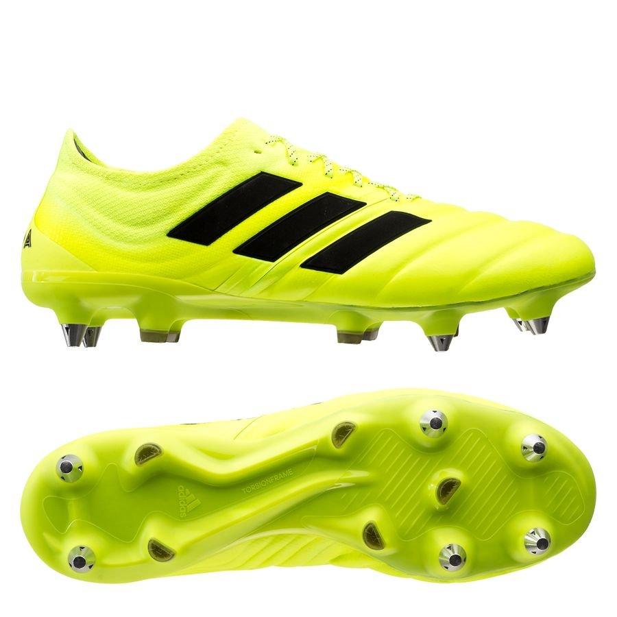 adidas Copa 19.1 SG - Gul/Sort