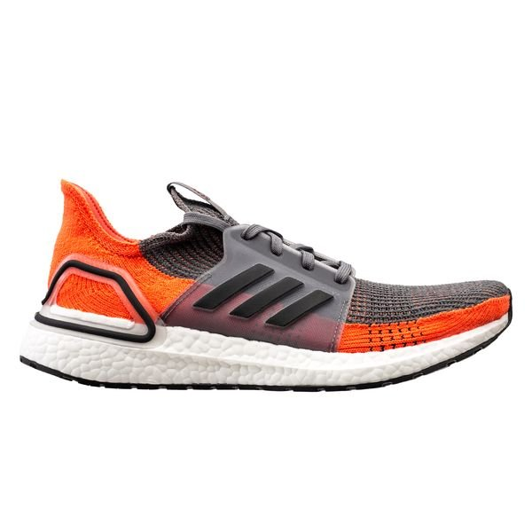 revendeur 76b7a 2f6d0 adidas Ultra Boost 19 - Gris/Noir/Orange