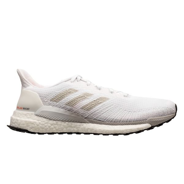 adidas Solar Boost 19 - Footwear White/Grey One/Solar Orange