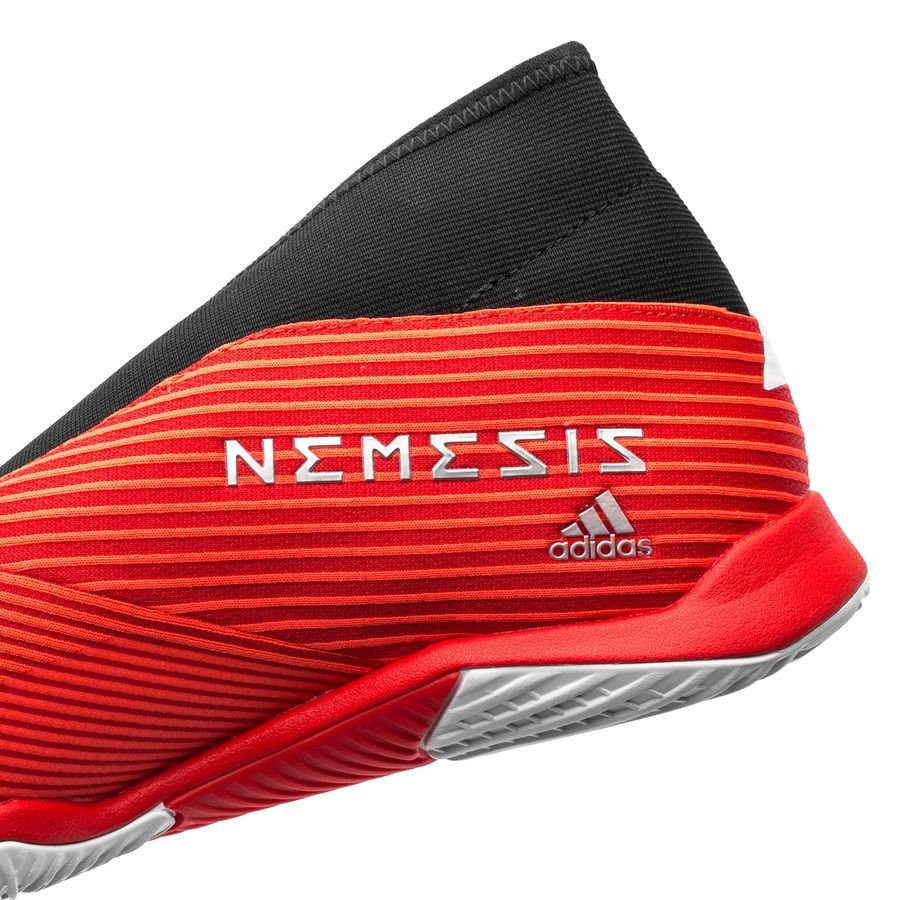 adidas Nemeziz Tango 19.3 IN Laceless 302 Redirect RødHvit