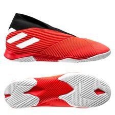 adidas Nemeziz Tango 19.3 IN Laceless 302 Redirect - Rød/Hvid