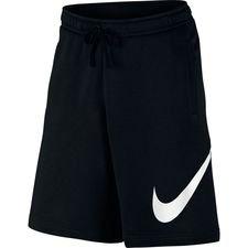 Nike Shorts NSW Club - Schwarz/Weiß