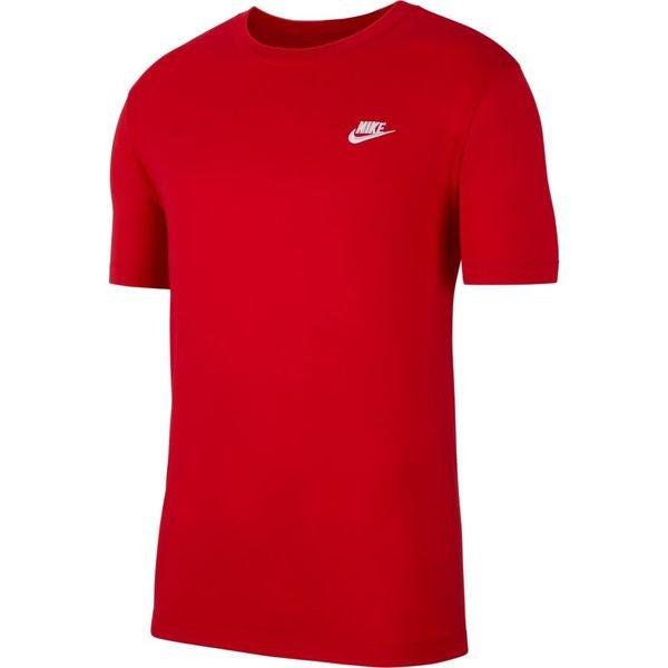 Nike T Shirt NSW Club RotWeiß