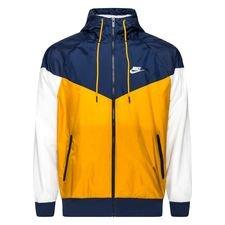 Nike Jacke Windrunner NSW HD - Gold/Navy/Weiß