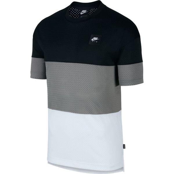vendita a buon mercato usa enorme inventario disabilità strutturali Nike T-Shirt NSW Air - Black/Dark Grey/White | www.unisportstore.com