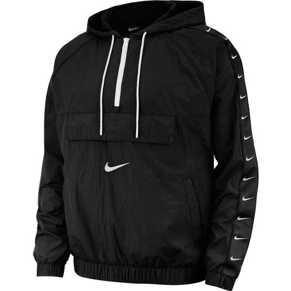 Nike Jakke NSW Woven RosaSortGrå | unisportstore.no