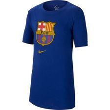 Barcelona T-Shirt Crest - Navy Barn