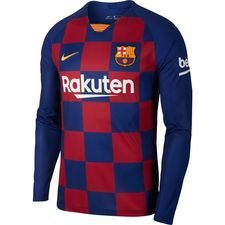 Barcelona Hjemmebanetrøje 2019/20 Langærmet