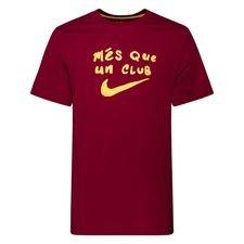 Barcelona T-Shirt Evergreen Tagline - Bordeaux