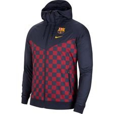 Barcelona Windrunner Woven Authentic - Navy/Gul