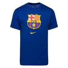 Barcelona T-Shirt Crest - Blå