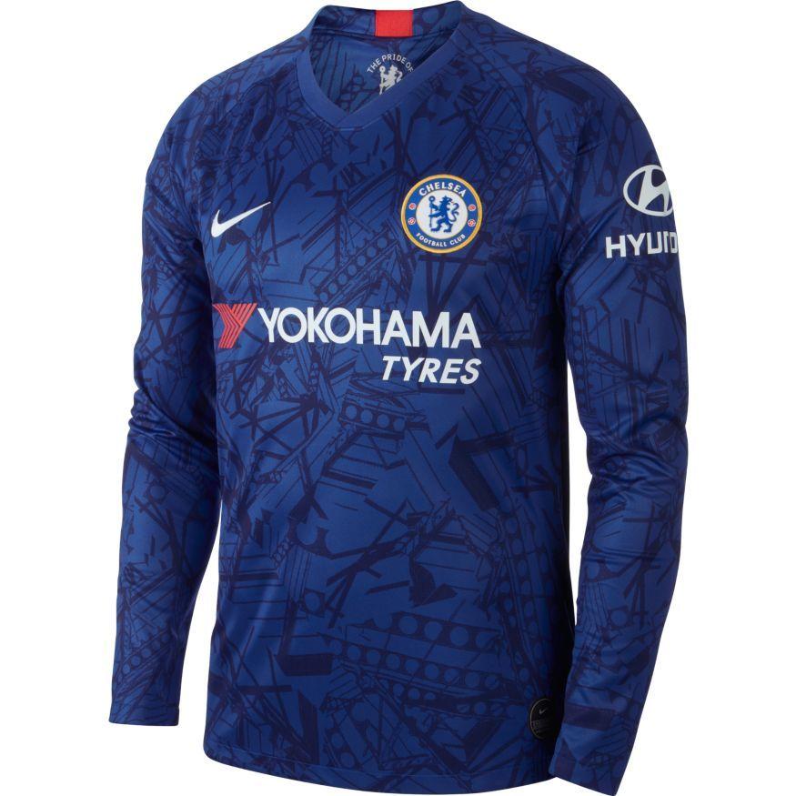 Chelsea Hjemmebanetrøje 2019/20 Langærmet
