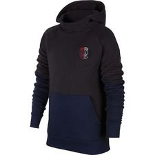 Paris Saint-Germain Fleece Luvtröja - Grå/Navy Barn