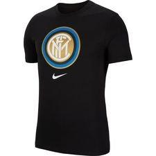 Inter T-Shirt Crest - Svart