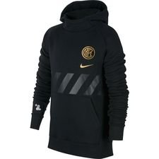 Inter Fleece Luvtröja - Svart/Guld Barn