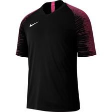 Nike Trænings T-Shirt Strike - Sort/Pink/Hvid Børn thumbnail