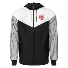 Eintracht Frankfurt Windrunner Woven Authentic - Svart/Vit/Grå