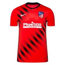 Atletico Madrid Tränings T-Shirt Pre Match - Röd/Svart/Vit