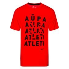 Atletico Madrid T-Shirt Evergreen Tagline - Röd