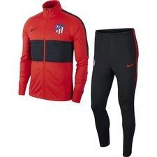 Atletico Madrid Träningsoverall Dry Strike - Röd/Svart Barn
