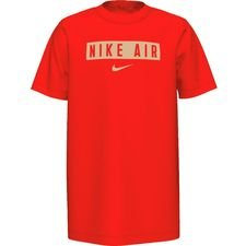 Nike T-Shirt NSW Air - Rot/Gold Kinder