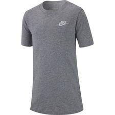 Nike T-Shirt NSW Futura - Grau/Weiß Kinder
