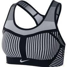 Nike Sport BH FE/NOM Flyknit - Schwarz/Grau Damen