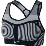 Nike Sports Bra FE/NOM Flyknit - Black/Pure Platinum Woman