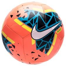 Nike Fotboll Pitch - Orange/Navy/Neon/Vit