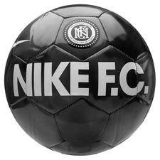 Nike F.C. Fotboll - Svart/Grå/Grå/Vit