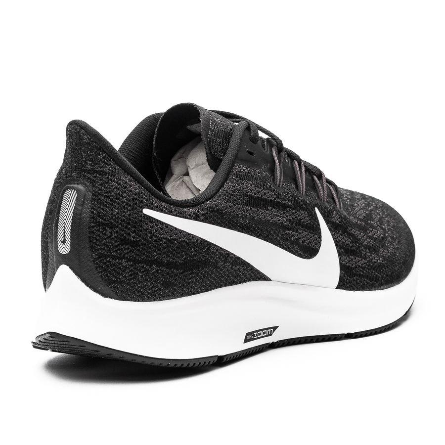 Nike Løpesko Air Zoom Pegasus 36 SortHvitGrå Dame