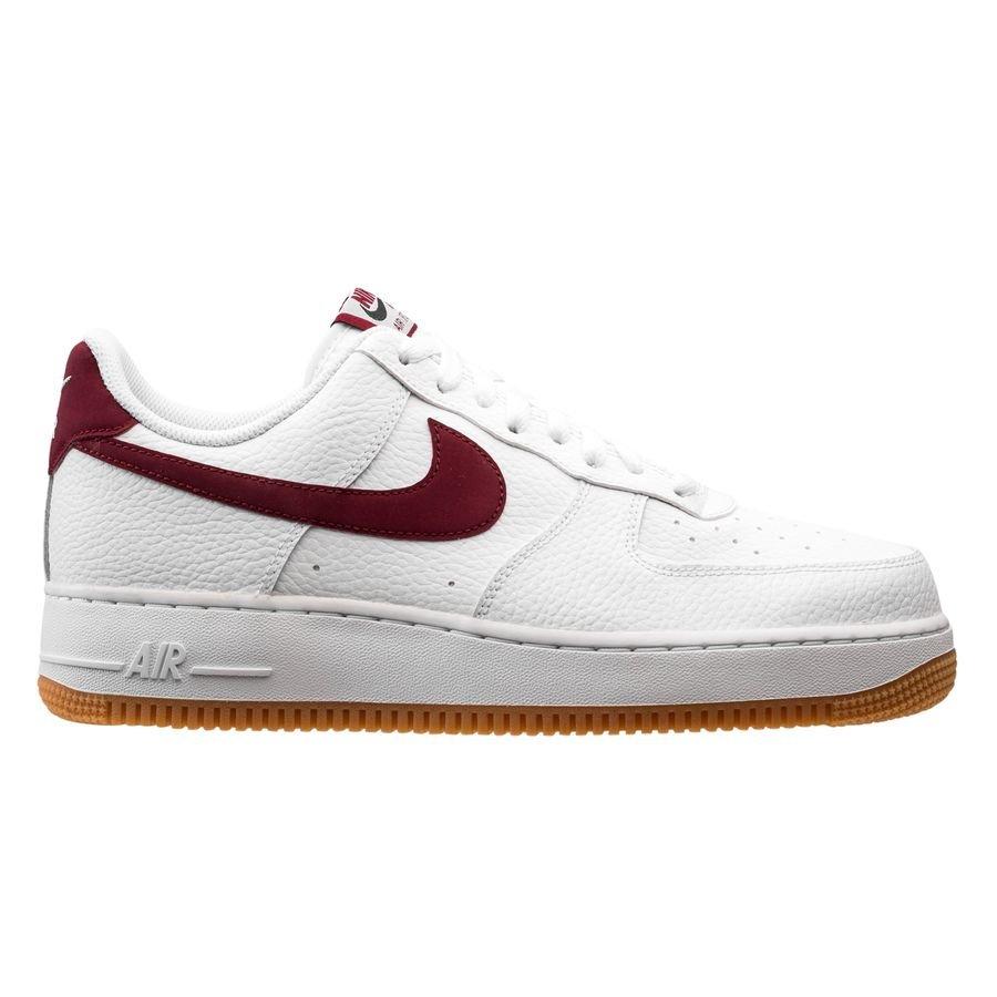 Nike Air Force 1 ´07 - Blanc/Bordeaux/Marron