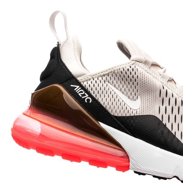 Nike Air Max 270 - Black/Light Bone/Hot Punch/White