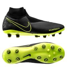 Nike Phantom Vision Elite DF AG-PRO - Sort/Neon