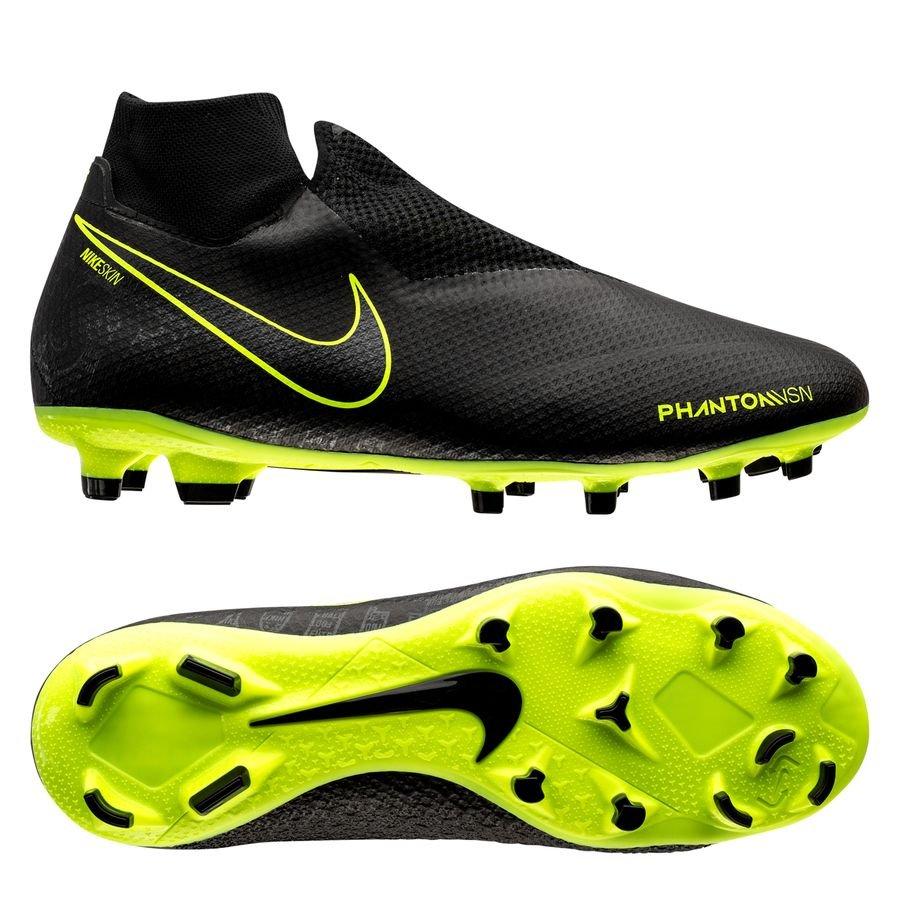 Nike Phantom Vision Pro DF FG - Sort/Neon