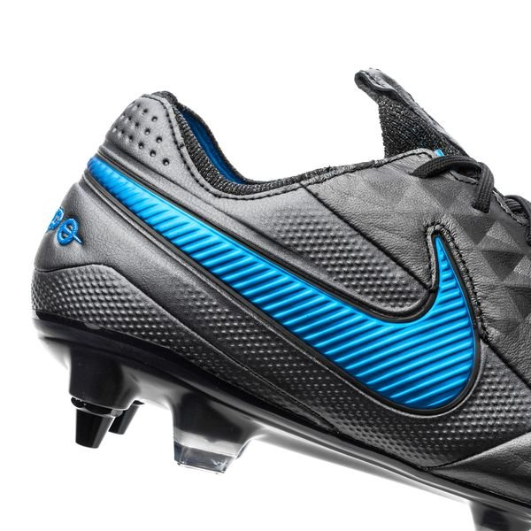 Nike Tiempo Legend 8 Elite SG PRO Under The Radar NoirBleu Foncé