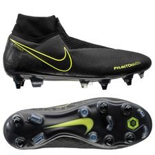 Nike Phantom Vision Elite DF SG-PRO - Sort/Neon