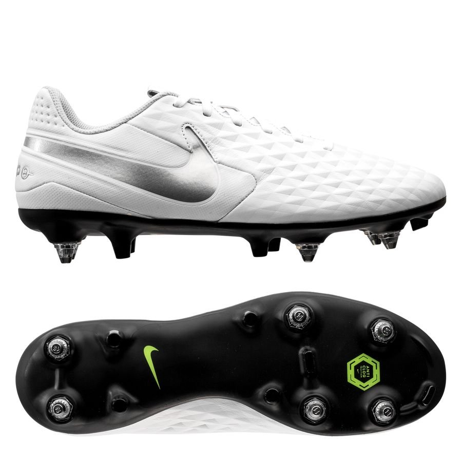 Nike Tiempo Legend 8 Academy SG-PRO Nuovo - Hvid/Grå thumbnail