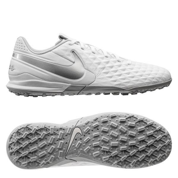 vente chaude en ligne 47f5c 0be11 Nike Tiempo Legend 8 Academy TF Nouveau - White/Pure Platinum