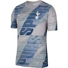 Tottenham Tränings T-Shirt Pre Match - Grå/Navy/Vit