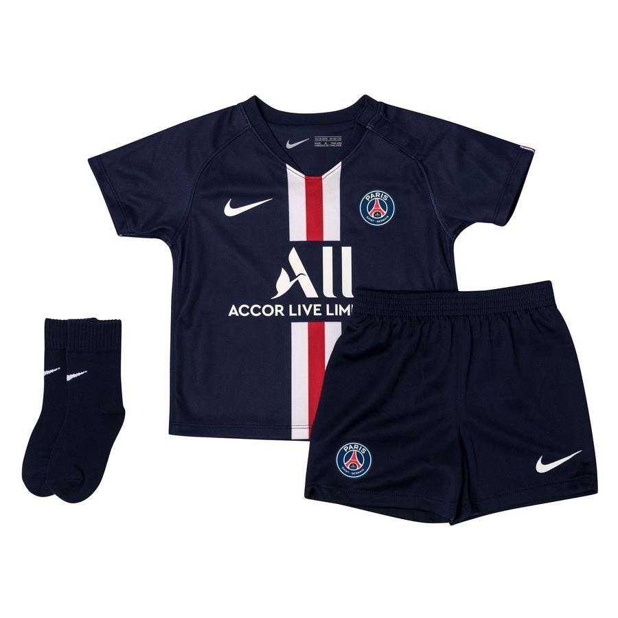 Paris Saint-Germain Hjemmebanetrøje 2019/20 Baby-Kit Børn thumbnail