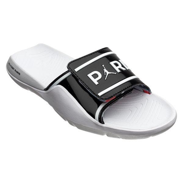 new products 48c92 ca245 Nike Slide Hydro 7 v2 Jordan x PSG - Black/White LIMITED EDITION