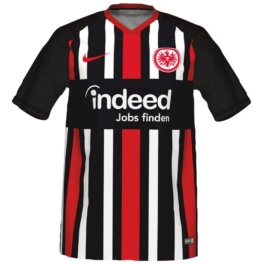 Eintracht Frankfurt Hjemmebanetrøje 2019/20 Supporter