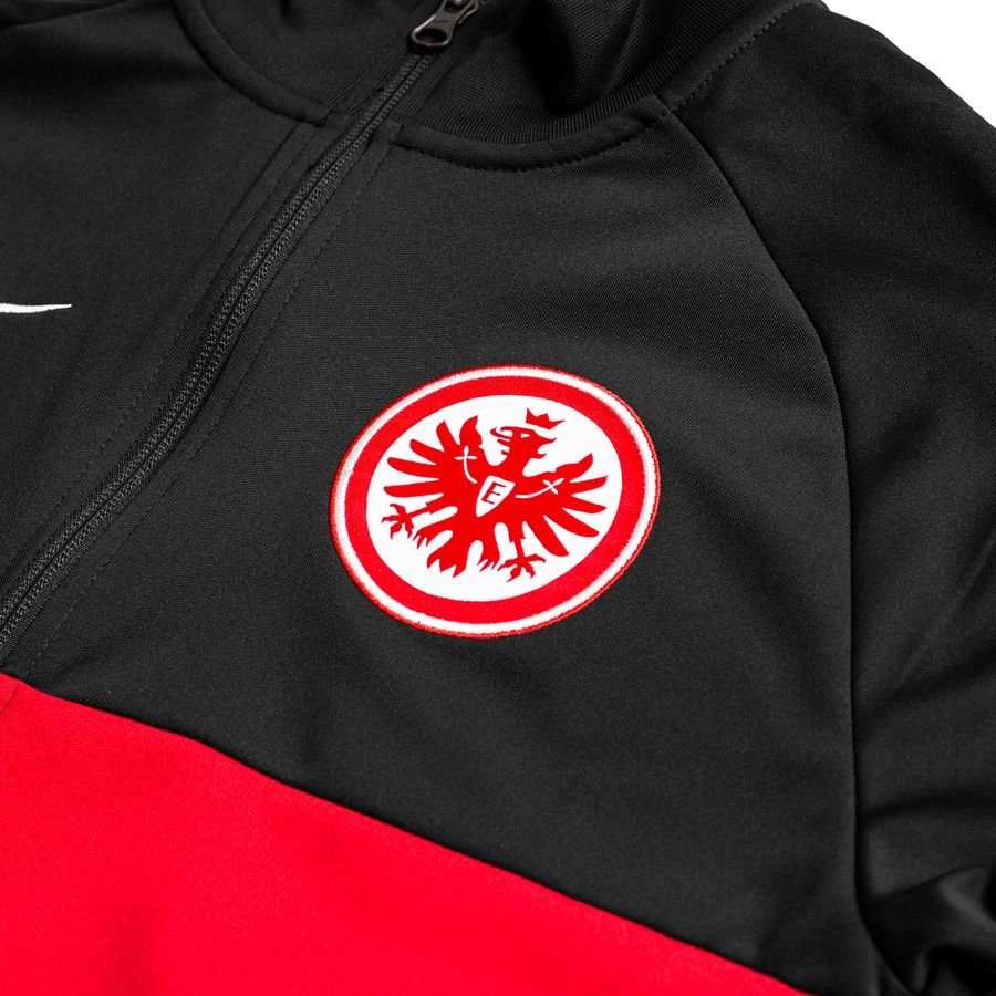 Eintracht Frankfurt Academy Track Jacket Dry BlackRedWhite