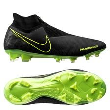 Nike Phantom Vision Elite DF FG - Sort/Neon