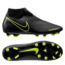 Nike Phantom Vision Academy DF MG - Sort/Neon