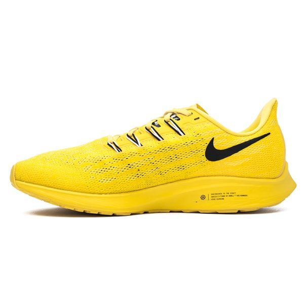 Laufschuhe Zoom Nike Pegasus 36 GelbSchwarzWeiß Air N8knOXZ0Pw