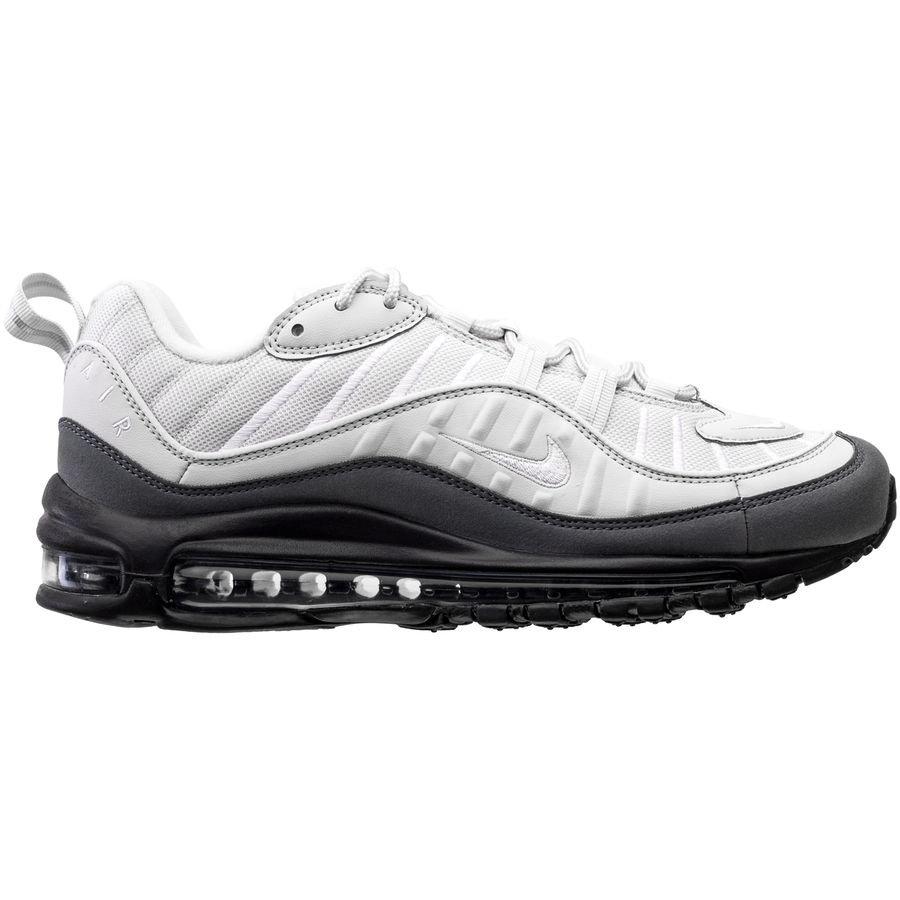 Nike Air Max 98 - White/Dark Grey | www
