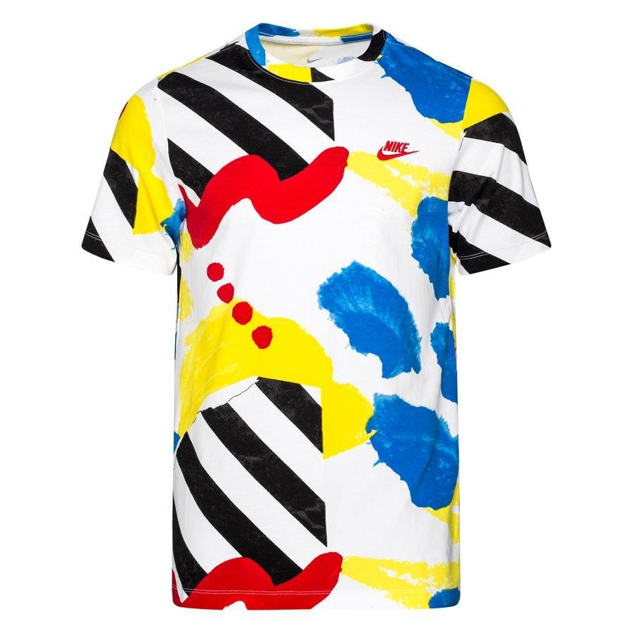 Nike T-Shirt NSW SSNL 2 AOP - White