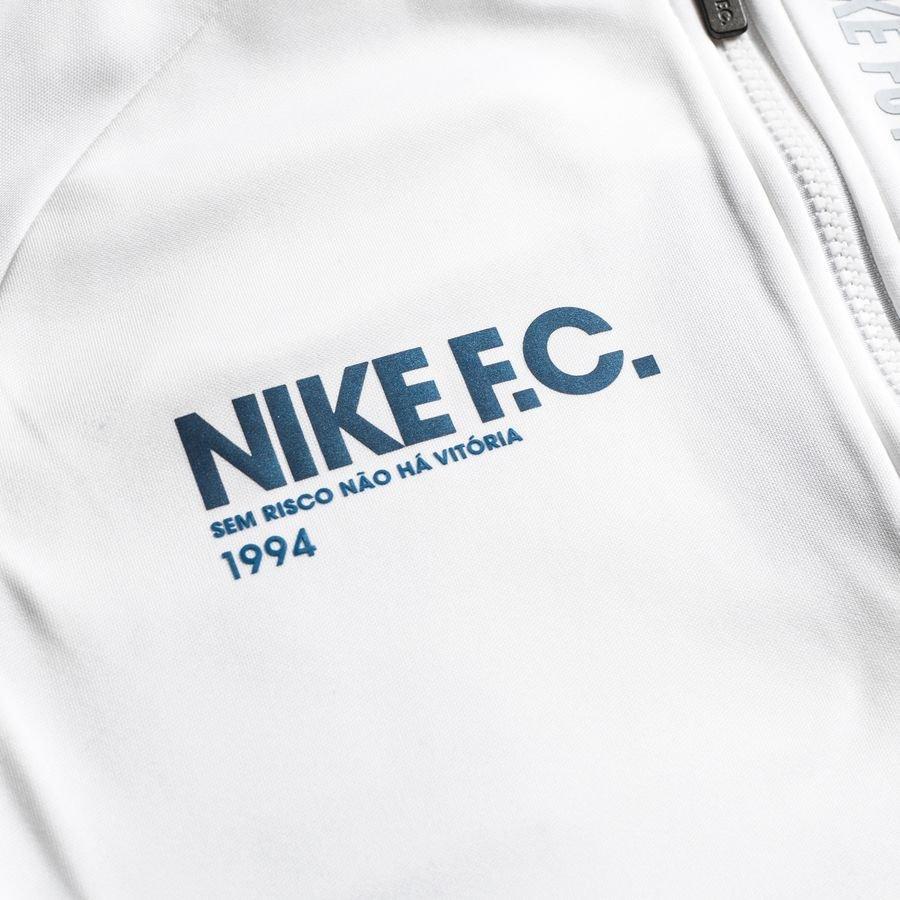 Nike F.C. Jakke Squad Anthem Sort | unisportstore.no